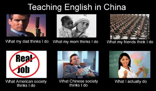 Teacher in China