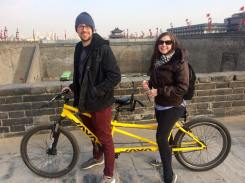 Biking in Xi'an
