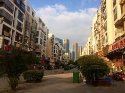 Cityscape in Hefei