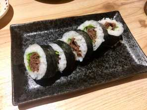 Beef sushi (for me)