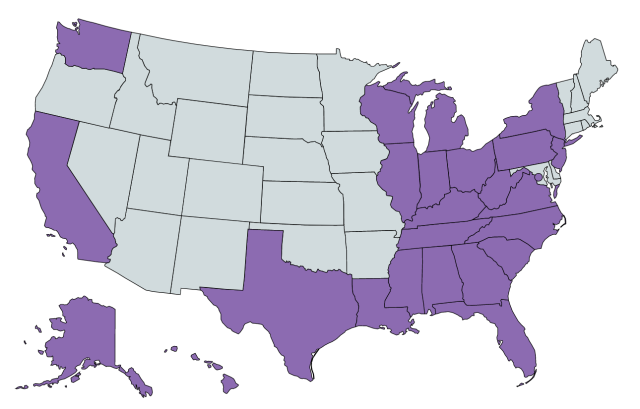 US States New